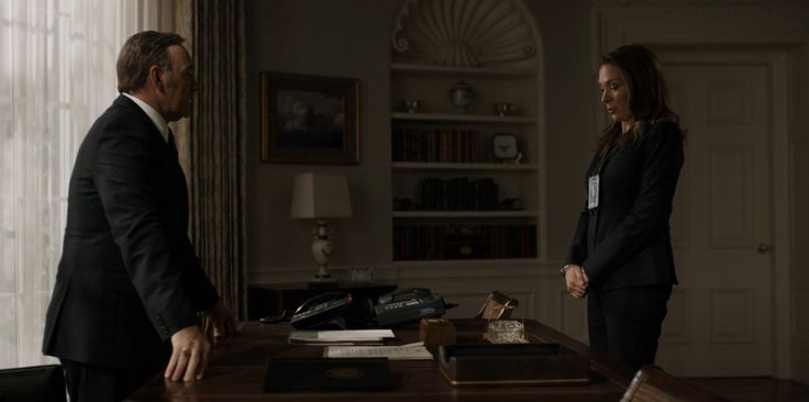 Avaya and Secure Terminal Equipment telephones in HOUSE OF CARDS: CHAPTER 30 (2015) - TV Show Product Placement