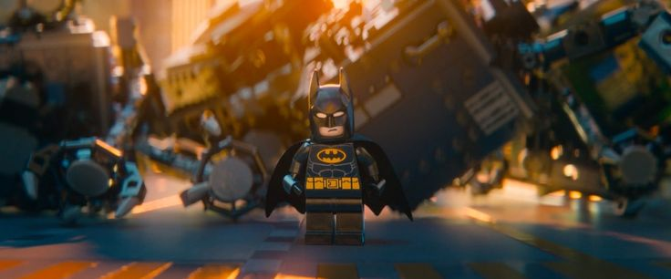 Batman x Lego toy - THE LEGO MOVIE (2014) Cartoon and Animation Movie Product Placement