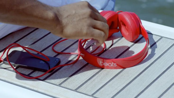 Beats by Dre headphones and Apple mobile phone in BELIEVER by Keyshia Cole (2014) Official Music Video Product Placement