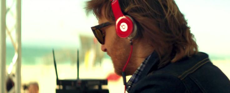 Beats by Dre headphones worn by David Guetta - WITHOUT YOU (2011) Official Music Video Product Placement