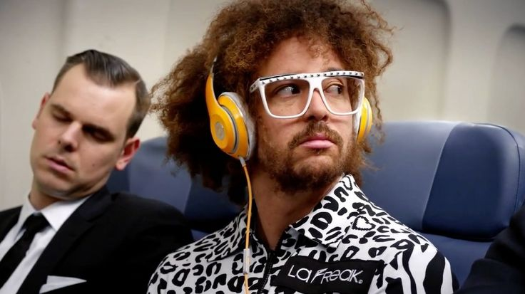 Beats by Dre headphones worn by Red Foo in LET'S GET RIDICULOUS (2013) - Official Music Video Product Placement