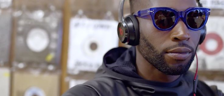 Beats by Dre headphones worn by Tinie Tempah in NOT LETTING GO (2017) Official Music Video Product Placement