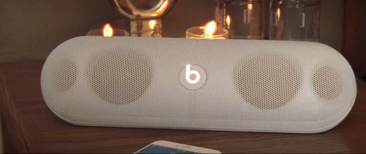 Beats by Dre Pill XL white speaker in MASTERPIECE by Jessie J (2014) Official Music Video Product Placement