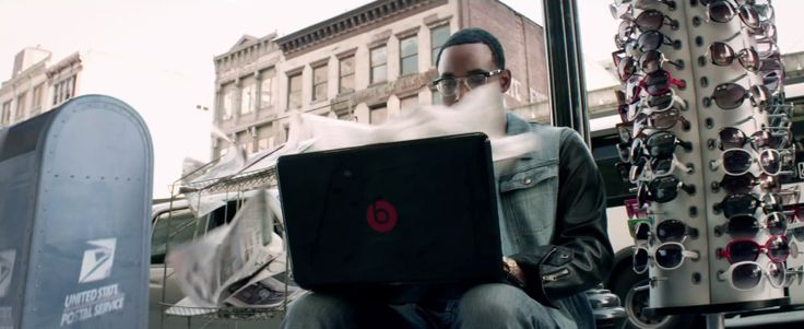 Beats by Dre/HP laptop and United States Postal Service - Eminem - Not Afraid - Official Music Video Product Placement