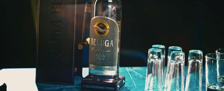 Beluga vodka in BODY ON ME by Rita Ora (2015) Official Music Video Product Placement