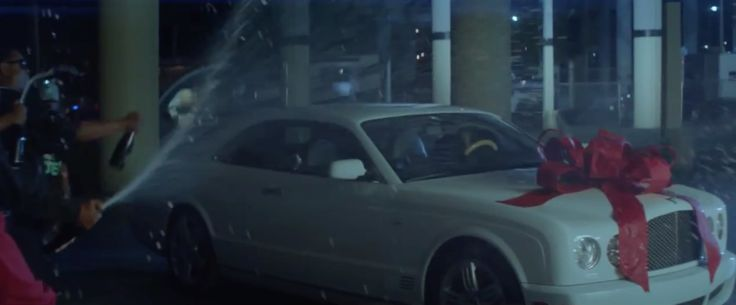 Bentley Brooklands in THUG CRY by Rick Ross (2014) Official Music Video Product Placement