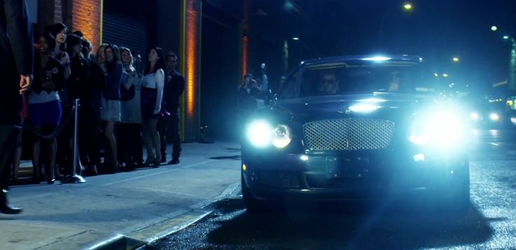 Bentley Continental Flying Spur car in JACK SPARROW by The Lonely Island (2011) Official Music Video Product Placement