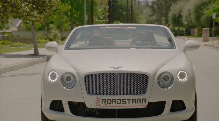 Bentley Continental GTC (2012) car from RoadStarr Motorsports in RIGHT BY MY SIDE by Nicki Minaj (2012) - Official Music Video Product Placement