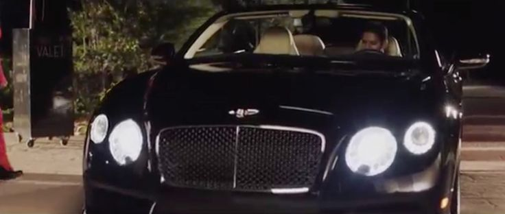Bentley Continental GTC (2012) car in THE PINKPRINT by Nicki Minaj (2014) Official Music Video Product Placement