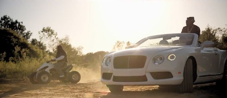 Bentley Continental GTC in GOLDEN BOTTLES by Jeezy (2015) Official Music Video Product Placement