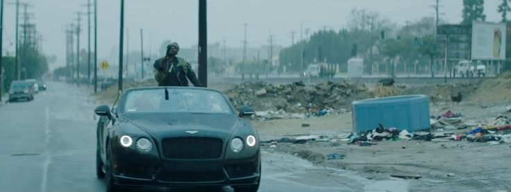 Bentley Continental GTC car in BLOW A CHECK by Puff Daddy & The Family (2016) Official Music Video Product Placement