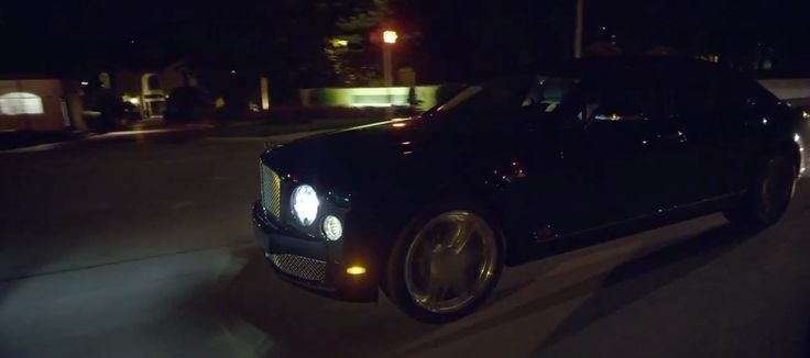 Bentley Mulsanne car in ALL EYES ON YOU by Meek Mill (2015) Official Music Video Product Placement
