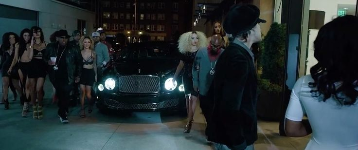 Bentley Mulsanne car in NO K by Tech N9ne ft. E-40 & Krizz Kaliko (2015) Official Music Video Product Placement