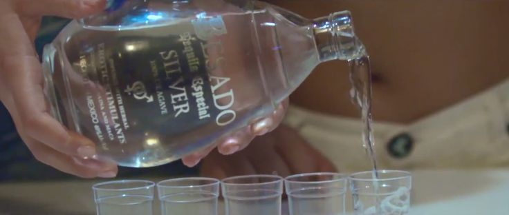 Besado tequila in 1HUNNID by K Camp (2015) Official Music Video Product Placement