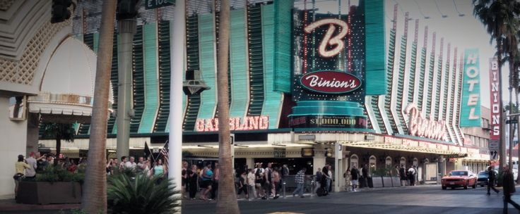 Binion's Gambling Hall and Hotel in WILD CARD (2015) - Movie Product Placement