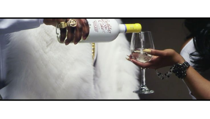 Birthday Cake wine in THEY DON'T KNOW (REMIX) by Rico Love (2014) Official Music Video Product Placement