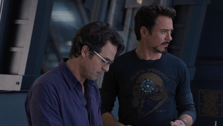 Black Sabbath T-Shirt - THE AVENGERS (2012) Movie Product Placement
