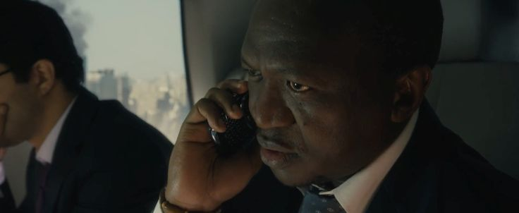 Blackberry Torch used by Fana Mokoena in WORLD WAR Z (2013) Movie Product Placement