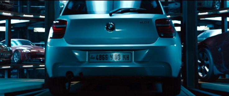 Bmw 118i F20 Car In Mission Impossible Ghost Protocol 2011 Movie