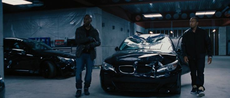 BMW 5 [E60] car in FAST & FURIOUS 6 (2013) Movie Product Placement