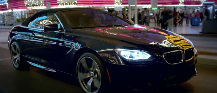 BMW 6 [F12] car driven by Tiesto in RED LIGHTS (2014) Official Music Video Product Placement