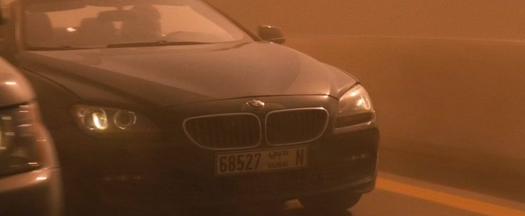 BMW 6 [F12] car driven by Tom Cruise in Mission: Impossible - Ghost Protocol (2011) - Movie Product Placement