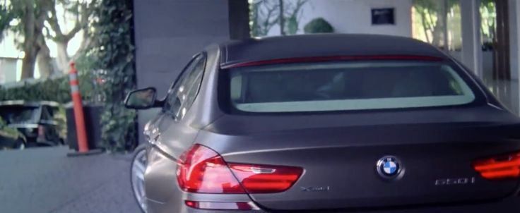 BMW 650i Gran Coupé [F06] car in MASTERPIECE by Jessie J (2014) Official Music Video Product Placement