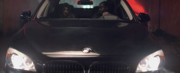 BMW 7 [F01] car in ON THE FLOOR by Jennifer Lopez (2011) - Official Music Video Product Placement
