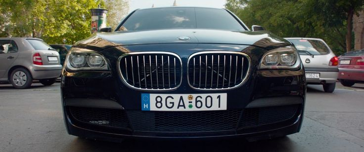 BMW 750d [F01] (2013) car - SPY (2015) Movie Product Placement