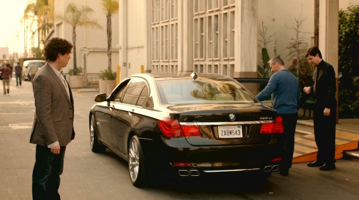 BMW 760Li [F02] car in EPISODES: EPISODE TWO (2012) TV Show Product Placement