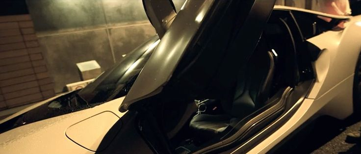 BMW i8 car in BLOW A BAG by Future (2015) Official Music Video Product Placement