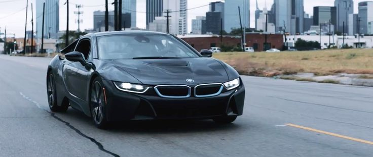 BMW i8 car in MY WAY by Fetty Wap (2015) Official Music Video Product Placement