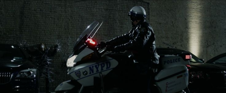 BMW R 1200 RT-P (2006) motorcycle in THE AMAZING SPIDER-MAN (2012) Movie Product Placement