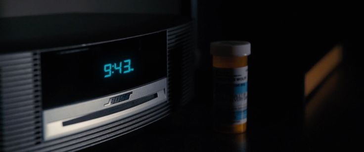 Bose alarm clock in THE ACCOUNTANT (2016) Movie Product Placement