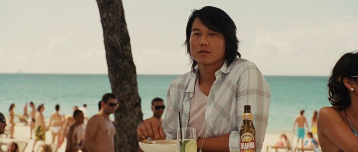 Brahma beer drunk by Sung Kang in FAST FIVE (2011) Movie Product Placement