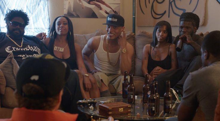 Bud Light beer in GET HARD (2015) Movie