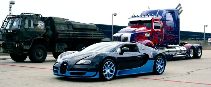 Bugatti Veyron Grand Sport Vitesse - Transformers: Age of Extinction (2014) Movie Product Placement