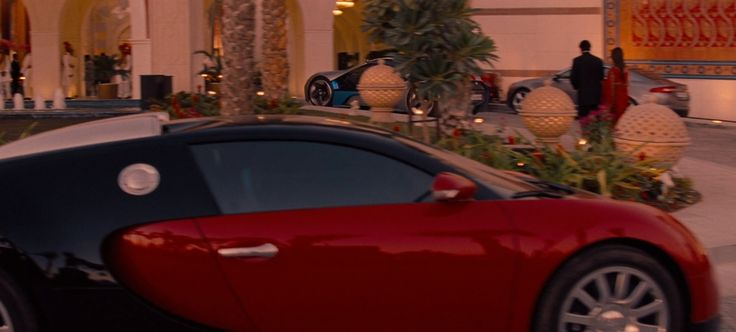 Bugatti Veyron in Mission: Impossible - Ghost Protocol (2011) Movie Product Placement