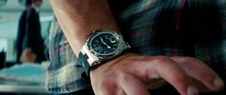 Bulgari Diagono X-Pro Watches - Transformers: Dark of the Moon (2011) Movie Product Placement