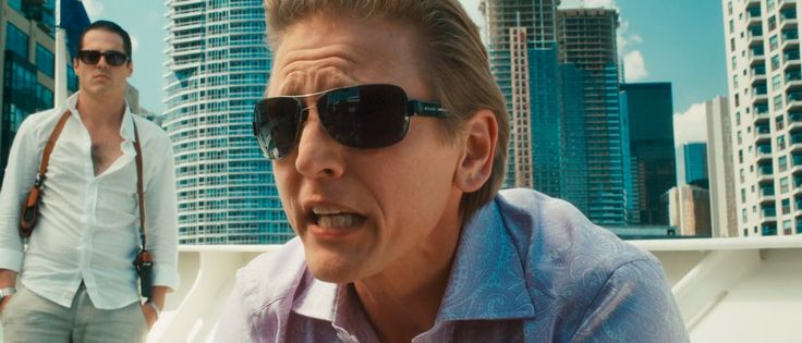 Bulgari sunglasses worn by Barry Pepper in CASINO JACK (2010) Movie Product Placement