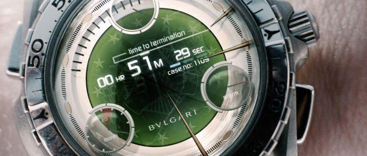 Bulgari x Omega Speedmaster X-33 Watch - Minority Report (2002) Movie Product Placement