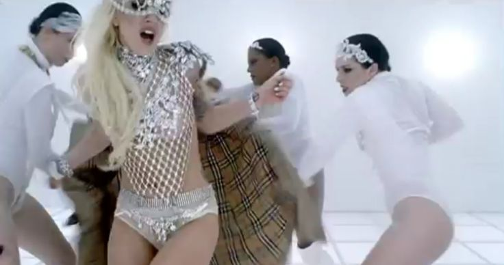 Burberry trench coat - Lady Gaga - BAD ROMANCE (2009) - Official Music Video Product Placement