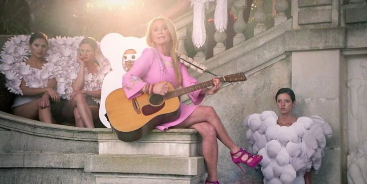 C.F. Martin & Co. acoustic guitar in G.U.Y. by Lady Gaga (2014) - Official Music Video Product Placement