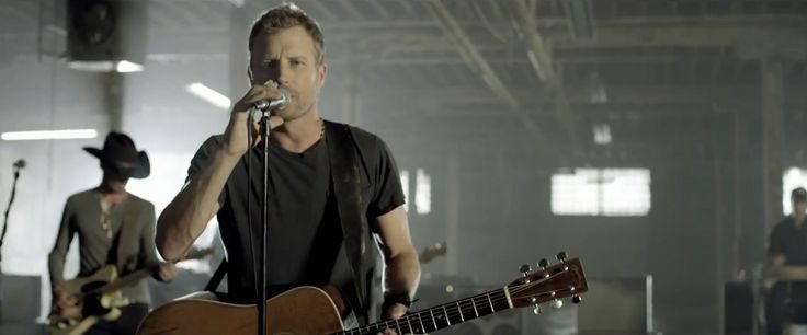 C. F. Martin & Company guitar played by Dierks Bentley in I HOLD ON (2013) Music Video Product Placement