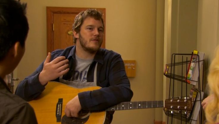 C. F. Martin & Company Guitar - Parks and Recreation TV Show Product Placement