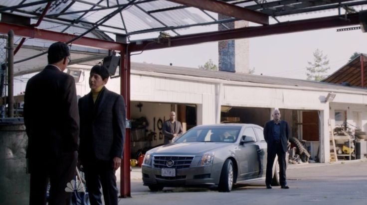 Cadillac car in THE BLACKLIST: DR. JAMES COVINGTON (2014) - TV Show Product Placement
