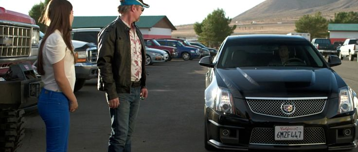 Cadillac CTS-V (2010) car in BORN TO RACE: FAST TRACK (2014) Movie Product Placement