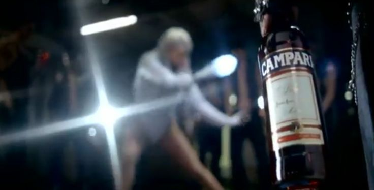Campari liqueur - LOVE GAME - Lady Gaga (2009) - Official Music Video Product Placement