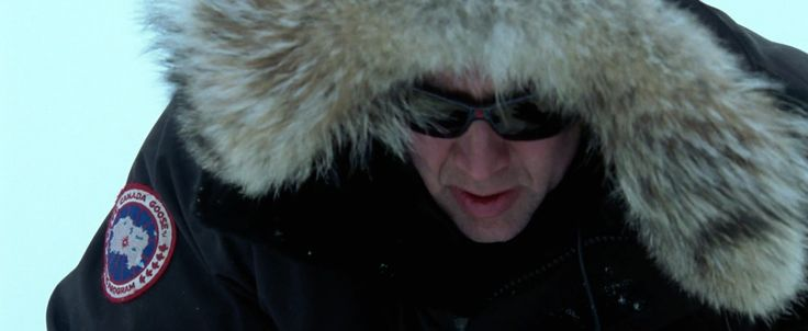 Canada Goose coat and The North Face Summit sunglasses worn by Nicolas Cage in NATIONAL TREASURE (2004) - Movie Product Placement