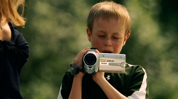 Canon camcorder - THE BLIND SIDE (2009) - Movie Product Placement